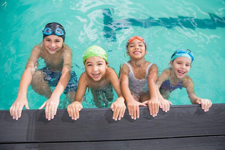 Natación para niños y adolescentes